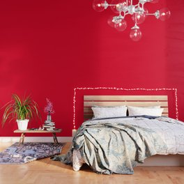 Cadmium Red - solid color Wallpaper