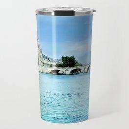 Seine River - Paris France Travel Mug