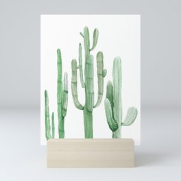 Three Amigos White + Green by Nature Magick Mini Art Print