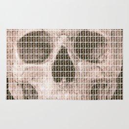 Skull - Black Rug