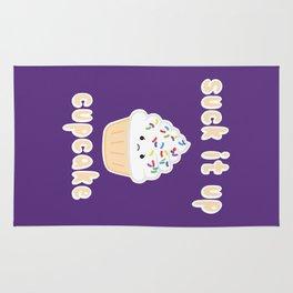 Suck it up Cupcake (Vanilla) Rug