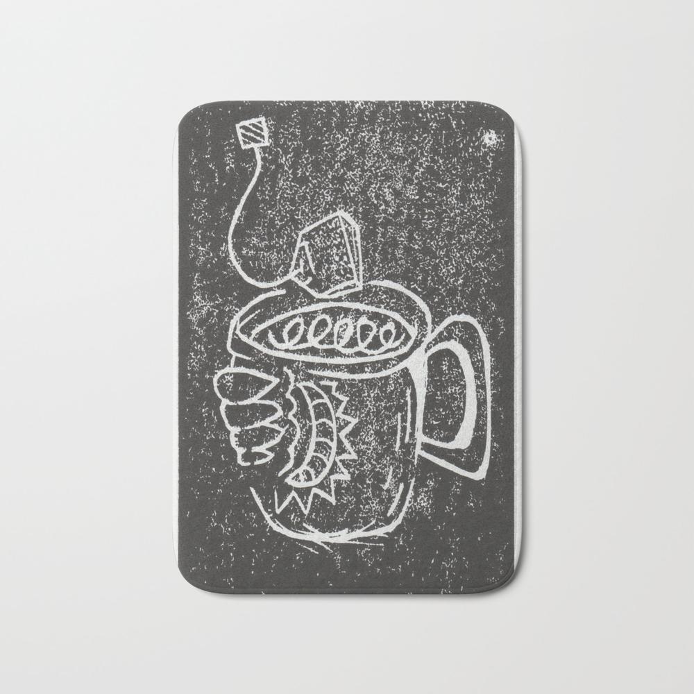 Cuppa Tea Bath Mat by Brandnamenerd BMT8810766