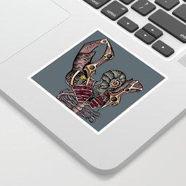 Steampunk Monster Sticker