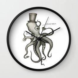 Indubitably Wall Clock