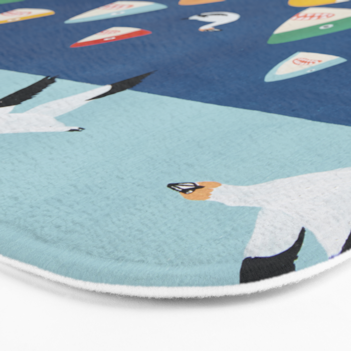 Shark Park Bath Mat