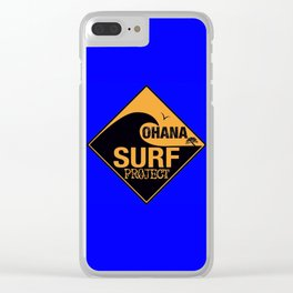 Ohana Surf Project Clear iPhone Case