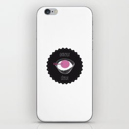 amour doux iPhone Skin