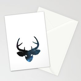 space deer Stationery Cards