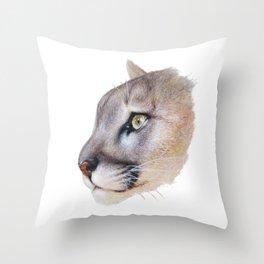 Ares Cougar Throw Pillow