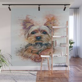 Yorkshire Terrier Wall Mural