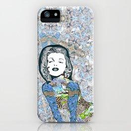 Psychedelic Marilyn Monroe  iPhone Case