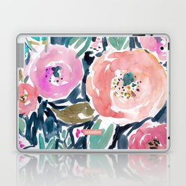 GARDENS OF CAPITOLA Watercolor Floral Laptop & iPad Skin