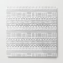 Mud Cloth on White by wellingtonboot