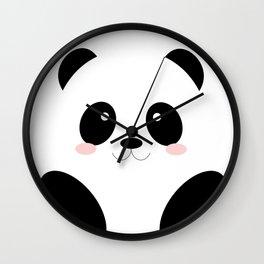 Cute Simple Panda Wall Clock