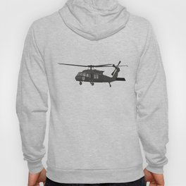 Black Hawk UH-60 Military Helicopter Hoody