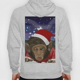 Christmas monkey Hoody