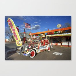 Snow Cap Diner  Canvas Print