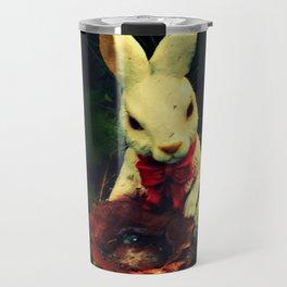 Garden Rabbit Travel Mug