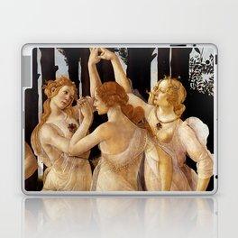 "Sandro Botticelli ""Primavera"" The Three Graces Laptop & iPad Skin"