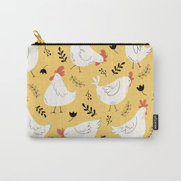 Lovely Little Hens Carry-All Pouch