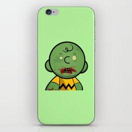 Zombie Charlie Brown iPhone Skin