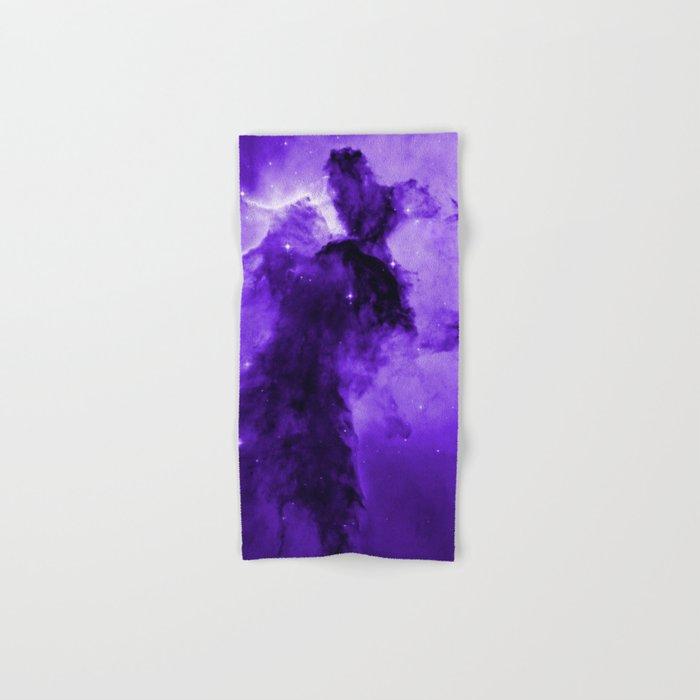 Eagle Nebula Ultraviolet Hand & Bath Towel