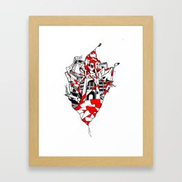 Abandoned Tacheles Framed Art Print