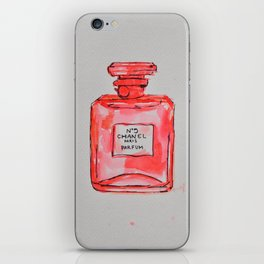 perfume red iPhone Skin
