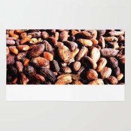 Cocoa seeds Rug