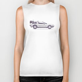 Famous Car #2 - Delorean Biker Tank