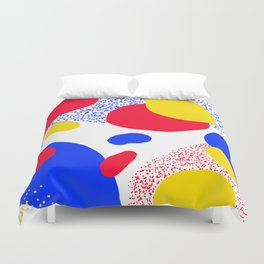 Primary Dots Duvet Cover