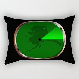 Radar on Alaska Rectangular Pillow