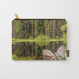 Quiet Forest lake Carry-All Pouch