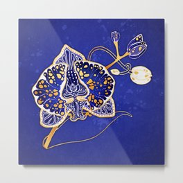 Egyptian Blue :: Orchid Metal Print