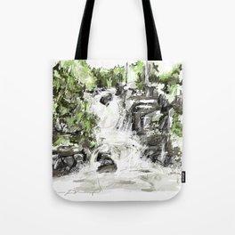 Abstract falls Tote Bag