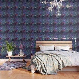 Aubergine & Teal Chinoiserie Wallpaper