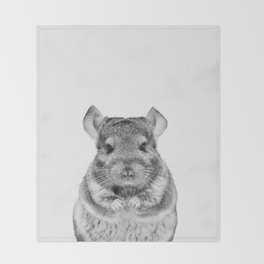 Chinchilla Throw Blanket