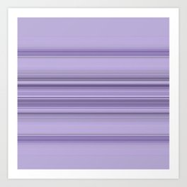 Pantone Purple Stripe Design Art Print