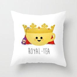 Royal-tea Throw Pillow