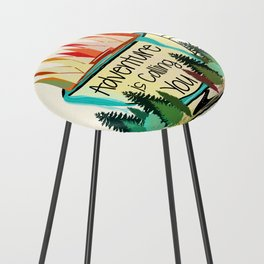 Adventure is Calling You Counter Stool