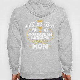 World's Best Norwegian Elkhound Mom Hoody