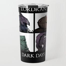 Lordran Dark Days Travel Mug