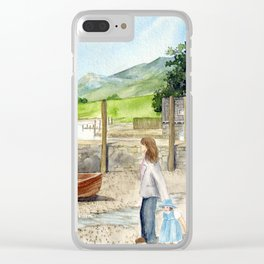 Day Out at Derwent Water Clear iPhone Case