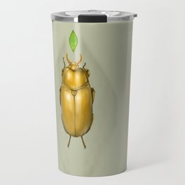 Gold bug Travel Mug