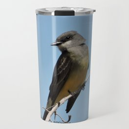 A Cassin's Kingbird Scopes the Skies for Flies Travel Mug