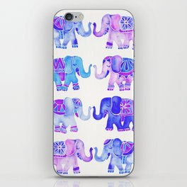 Elephant Collection – Indigo Palette iPhone Skin