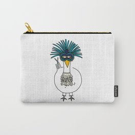 Eglantine la poule (the hen) at the Venice Carnival Carry-All Pouch