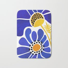 The Happiest Flowers Bath Mat