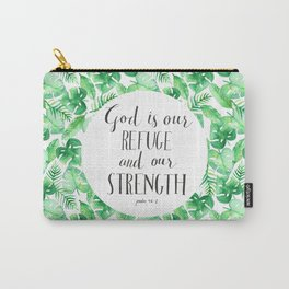Psalm 46:1 Carry-All Pouch
