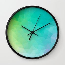 """""""Crystal clear water"""" Wall Clock"""